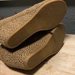 Toms Shoes - Leopard Toms Wedges
